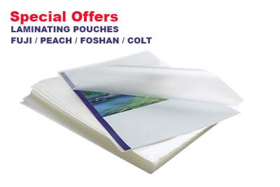 Special Offer : LAMINATING POUCHES  in Sri Lanka