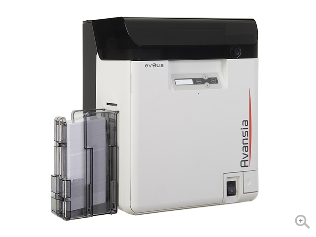 avansia plastic card printer by evolis