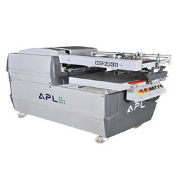 semi auto flat screen printing machines