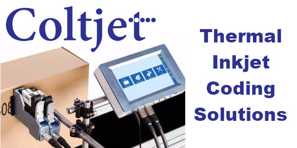 Coltjet Inkjet Printer for Product Coding