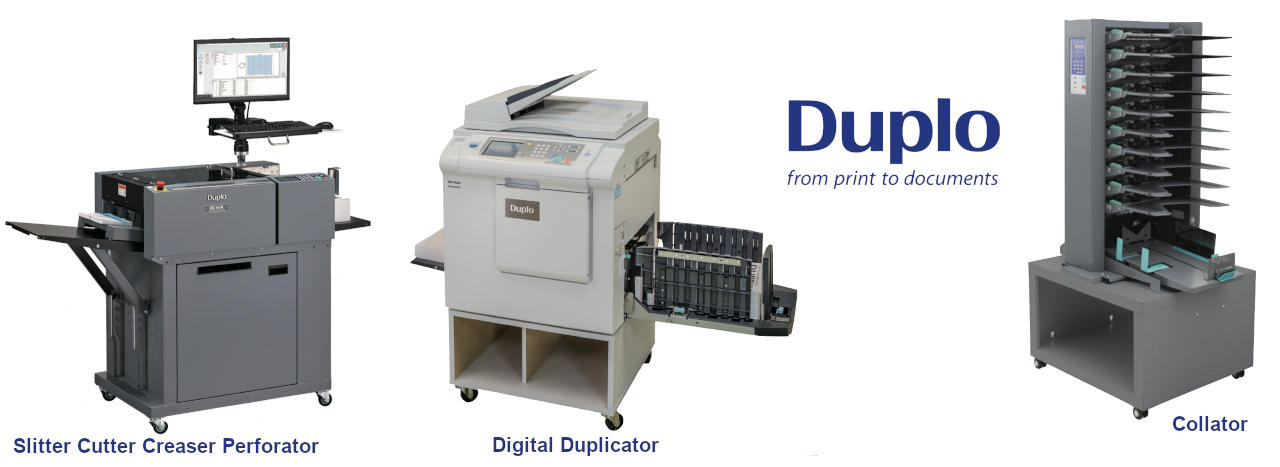 Printing and Finishing Equipment